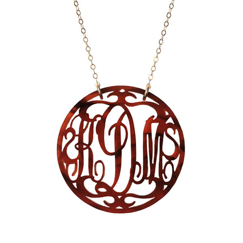 Beautiful Monograms from Moon and Lola