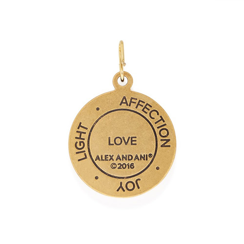 The Back of the Love Charm by Alex and Ani