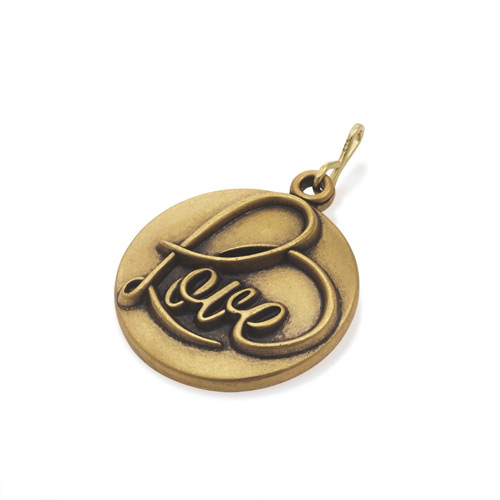 The Love Charm can be purchased from Ben David Jewelers.