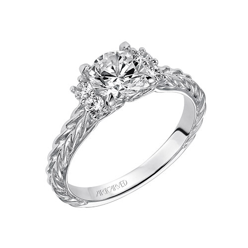 ArtCarved Bridal creates many engagement ring designs.