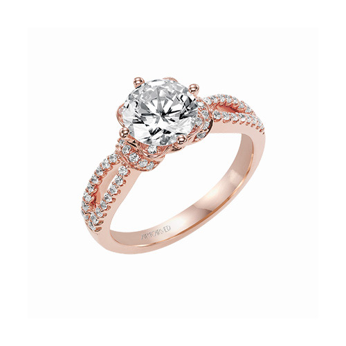 Rose gold is the precious metal of choice of many women today.