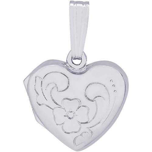 Put a photo of yourself in this locket charm before giving it to her.