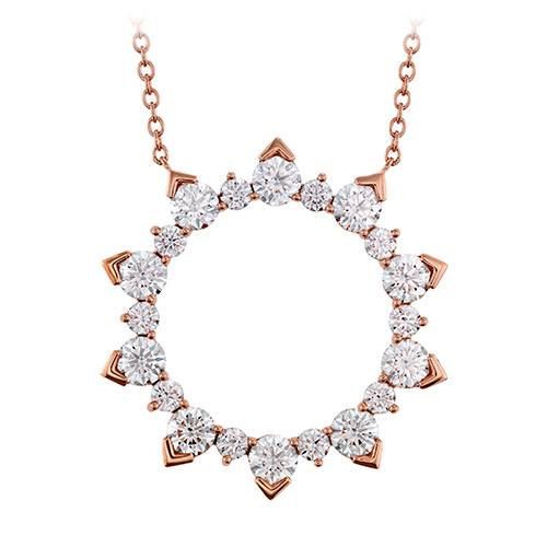 Diamond pendant make for a very romantic Valentine's Gift.
