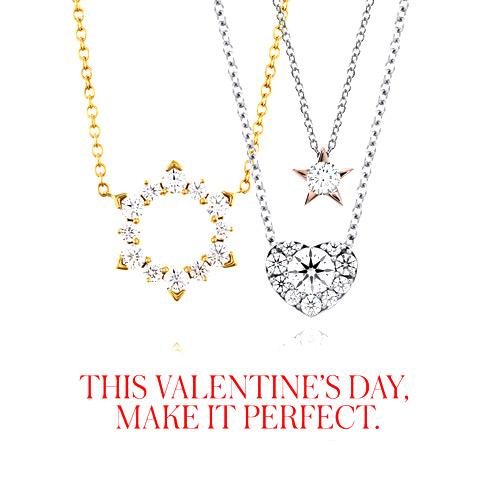 Ben David Jewelers has many Hearts on Fire diamond pendants for her.
