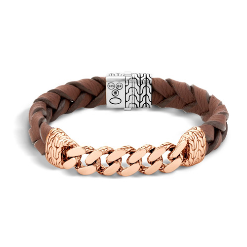 This is a John Hardy classic bracelet for men.