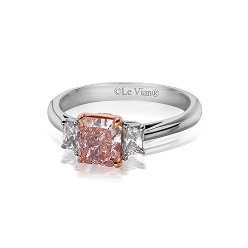 Pink diamonds are a light red diamond.