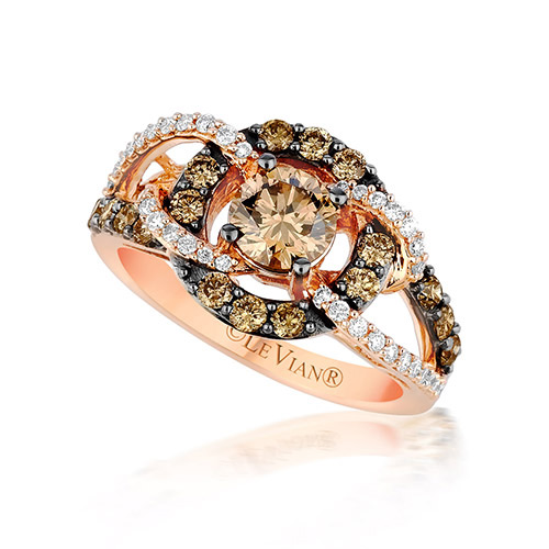 Le Vian designs and manufacturers rings, pendants and earrings.
