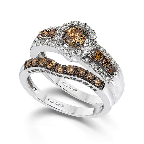 Le Vian chocolate rings are very popular.