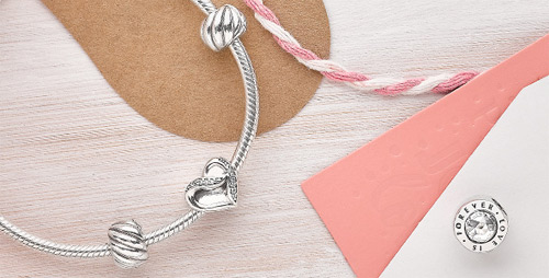 Pandora Filled with Love bracelet.