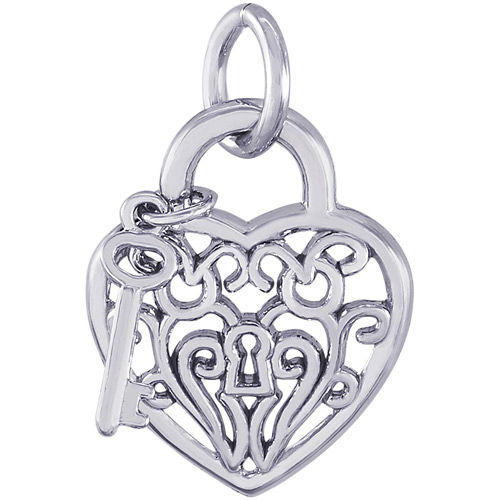 Give her the key to your heart with this charm.