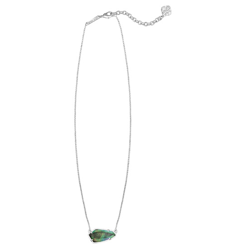 The Cami necklace is very light and delicate.