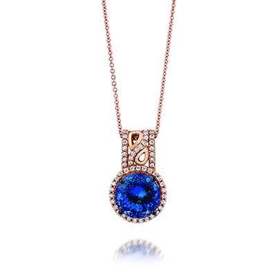 Blue diamond jewelry is a favorite of women who love the color blue.
