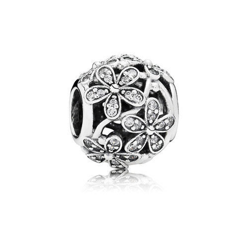 The Daisy charm looks like a decorated Easter Egg.