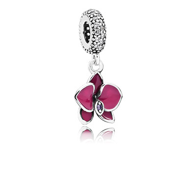 Floral charms are beautiful for Easter.