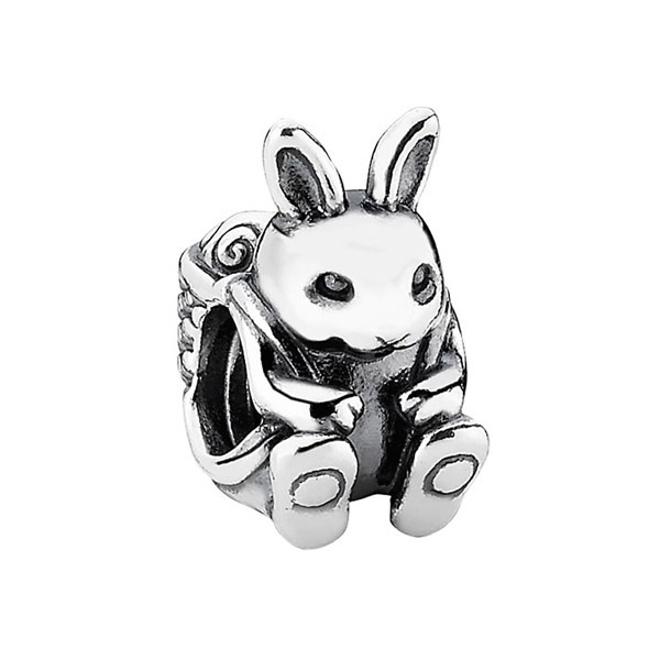 The Easter Bunny charm featured in 2015 Pandora Easter Charms.