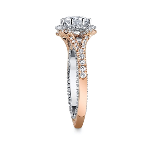 Verragio is a popular designer brands of engagement rings.
