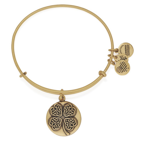 Alex and Ani has their clover charms as the charm of the month.