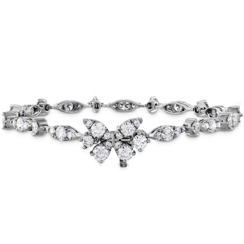 A beautiful diamond bracelet
