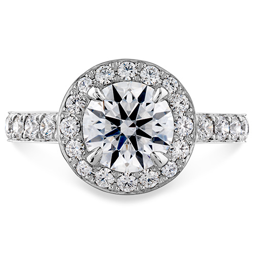 Hearts on Fire makes most of their rings in white gold.