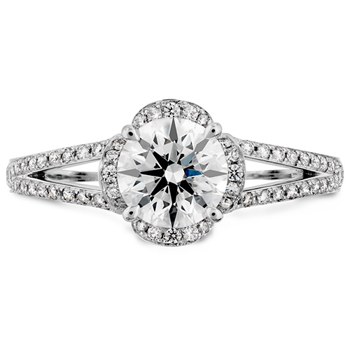 Lorelei is one of Hearts on Fire's top designers of engagement rings.