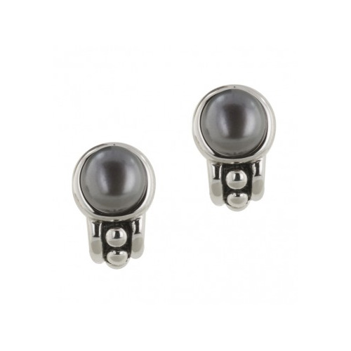 Button style pallini earrings are quite elegant.