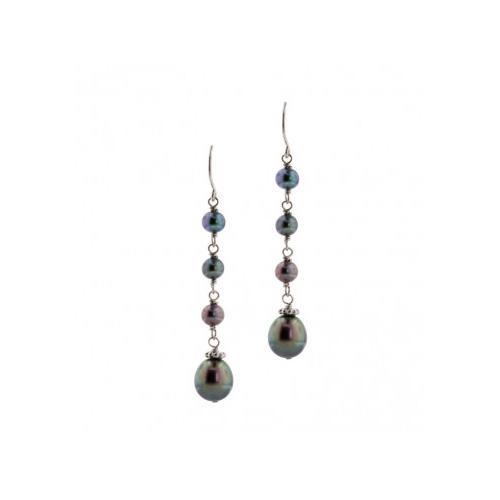 Honora Black Pearl Earrings