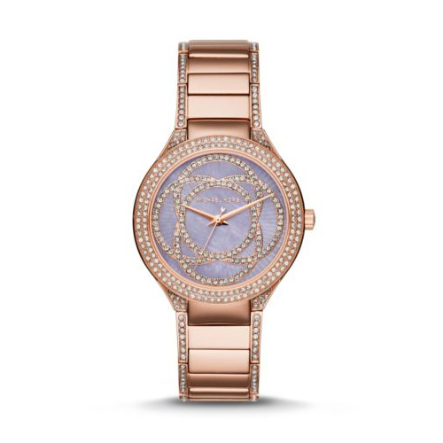 Michael Kors hits a home run with this beautiful gold colored watch.