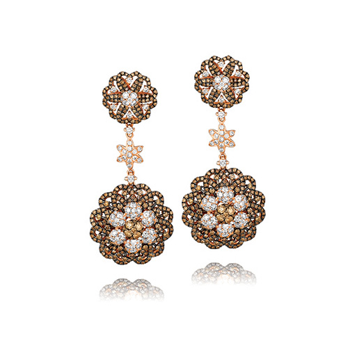 Le Vian Chocolate Earrings are a fun way to dress up.