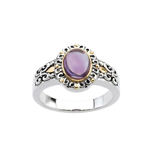 Shop for this amethyst ring online at Ben David Jewelers.