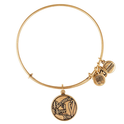 Alex and Ani created a simple heat bangle with this one.