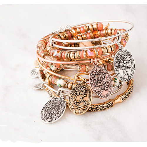Alex and Ani have many bangles that mom will love to receive on Mother's Day.