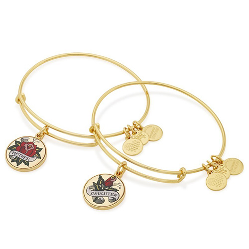 These are a matching bangle set for mom and daughter.