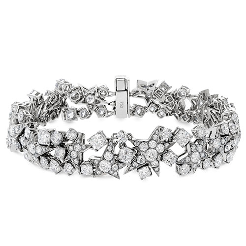 Hearts on Fire Diamond Bracelets are some of the most beautiful.