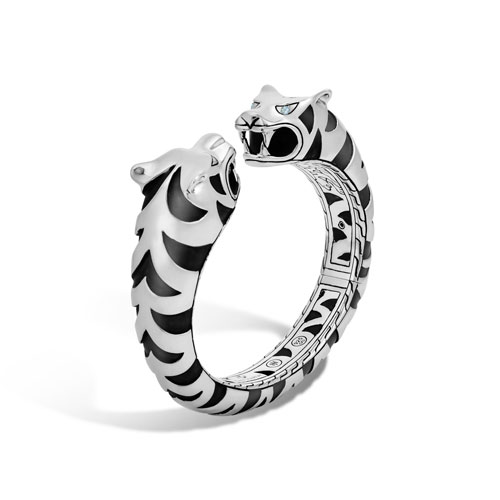 John Hardy for men's jewelry include this fantasy kick cuff.