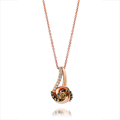 Chocolate Diamond Necklace YQEN44 by Le Vian