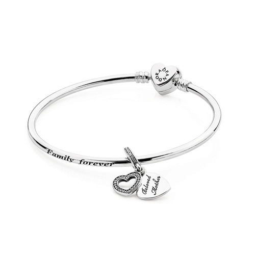 Pandora bracelets are available from Ben David Jewelers.
