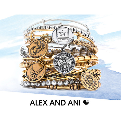 Alex and Ani Memorial Day Special on bangles.