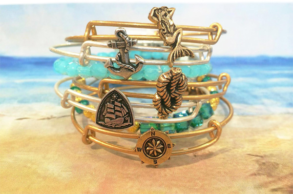 The nautical jewelry charms can be found in the seaside collection.
