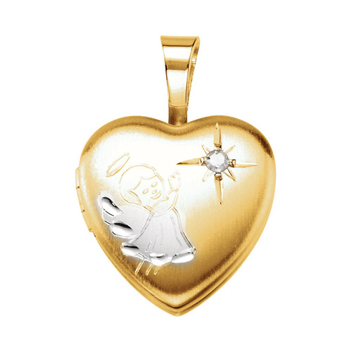 Ben David Jewelers carries many pendants that feature diamond hearts.
