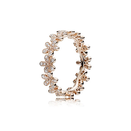 This ring by Pandora is stackable.