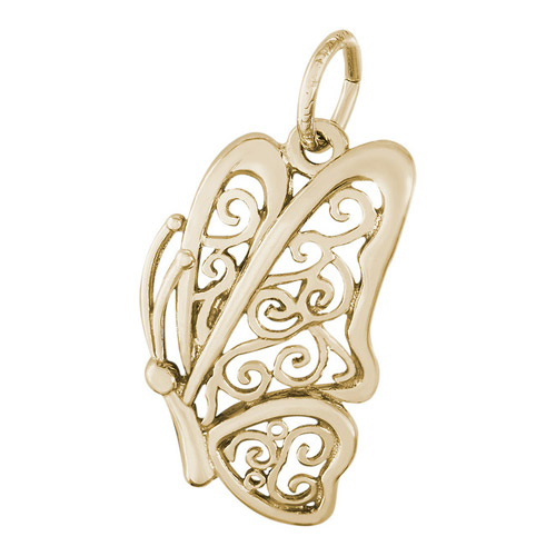 This 14k gold charm can be found at Ben David Jewelers.