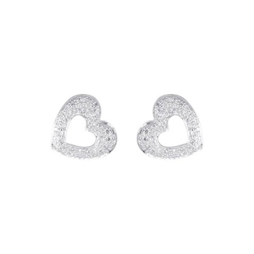 You can purchase this diamond hearts earring set at Ben David Jewelers.