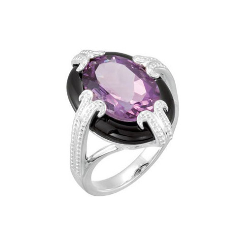 You can shop for amethyst rings at Ben David Jewelers in Danville.