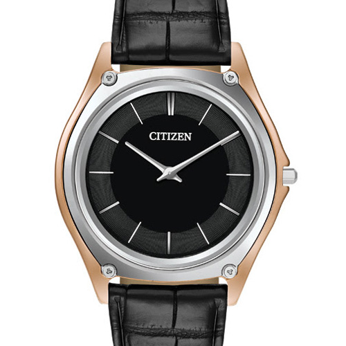 This Citizen watch is very sleek.