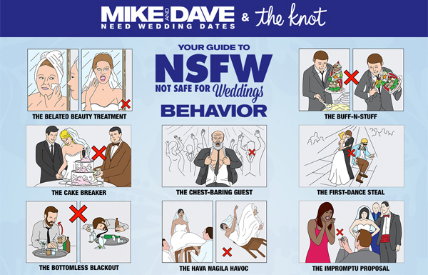 Will your wedding have NSFW attendees?