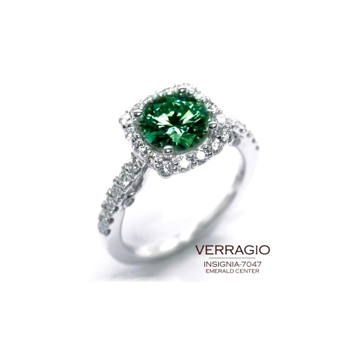 An emerald ring is a fun way to celebrate St. Patrick's Day.