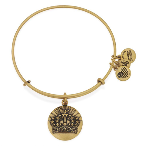 Rafaelian Gold is the gold/brass color by Alex and Ani.