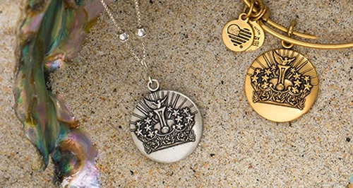 Alex and Ani give a discount to one particular design each month.