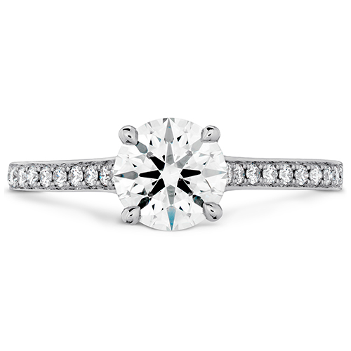 This type of engagement ring can be found at Ben David Jewelers.