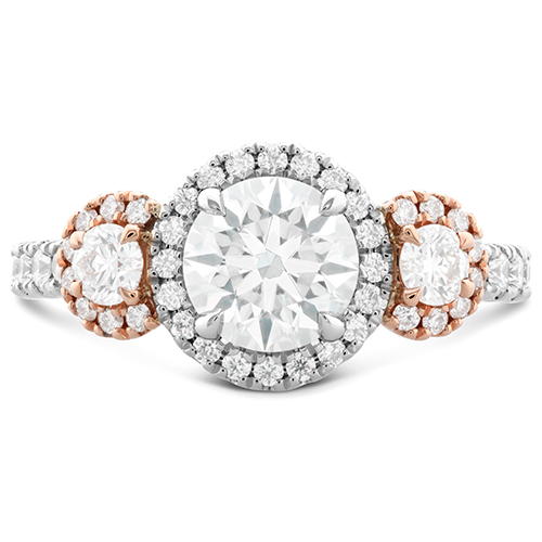 You can create your own bridal sets with this engagement ring.